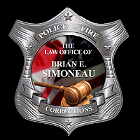 The law office of Brian E. Simoneau, Department of Homeland Security, Federal Law Enforcement Training Center, Framingham State College, Massachusetts School of Law Cum Laude, Police Legal Advisor, Massachusetts State Courts, United States District Court, Massachusetts Civil Service Commission, Labor Relations Commission, Board of Conciliation, Massachusetts Agencies, Massachusetts police officers, Massachusetts Civil Service Commission, Human Resources Division, Labor Relations Commission, Massachusetts Commonwealth, PERAC